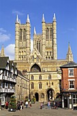 England,Lincolnshire,Lincoln,Lincoln Cathedral