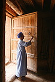 Africa, Maghreb, North africa,Morocco, Guelmim (Goulimine), kasbah of Tighmert