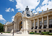 France, Paris, 8th arrondissement, Petit Palais, facade