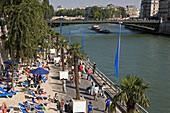 France, Paris plage