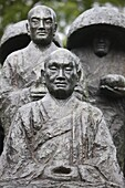 France, Vincennes, Zen pilgrim statue by Torao Yazaki