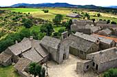 France, Languedoc Roussillon, Lozere, La Garde Guérin, general view