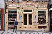 Portugal, Douro, Porto, delicatessen shop