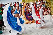 Mauritius, Trou aux Biches, sega dancers