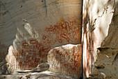 Australia, Queensland, Carnarvon National Park, Art Gallery, aboriginal rock art