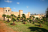 Africa, Maghreb, North africa,Morocco, Rabat, walls of the Kasbah of the Udayas