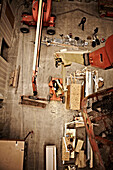 Construction Site, Aerial View, Indoor