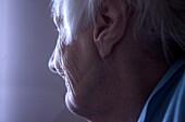 Elderly Woman Profile