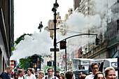 rushhour near Central Station, Manhattan, New York, USA