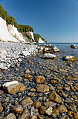 Chalk Cliffs, Kollicker Shore, Baltic Sea, Jasmund National Park, at Sassnitz, Island of Ruegen, Mecklenburg-Western Pomerania, Germany