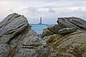 Le Phare de L Ile Vierge, Finistere, Bretagne, France, Europe