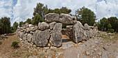 Talayot settlement Ses Paisses, 800-1000 BC, near Arta, town, Mallorca, Balearic Islands, Spain, Europe