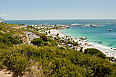 View of beach 3 and 4, Clifton Beach, Cape Town, South Africa