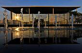 Deutscher Bundestag im Licht der Abendsonne, Paul-Löbe-Haus, Mitte, Berlin, Deutschland, Europa