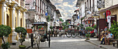 Panorama view of Vigan, a spanish colonial city in Ilocos, Vigan, Luzon Island, Philippines, Asia