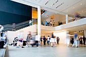People visiting Museum of Modern Art, Manhattan, New York City, New York, USA
