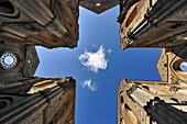 Detail of the Cistercian abbey San Galgano, Tuscany, Italy, Europe
