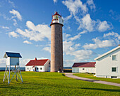 Lighthouse near Lista, Vest-Agder, Norway