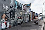 Berlin Wall, East Side Gallery, Muehlen Street, Friedrichshain, Berlin, Germany