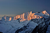 Hochfeiler and Hochferner, Zillertal Alps, Zillertal, Tyrol, Austria