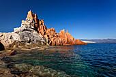 Red Rocks, Arbatax, Mediterranean, Sardinia Island, Italy
