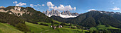 Mountain village, Le Odle, Villafranca, South Tyrol, Trentino-Alto Adige, Italy