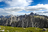 The Sextner Dolomites, UNESCO world natural heritage, Dolomites, South Tyrol, Trentino-Alto Adige, Italy