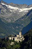 Taufers Castle, Valle Aurina, Sand in Taufers, Puster valley, Zillertaler Alpen, South Tyrol, Trentino-Alto Adige, Italy