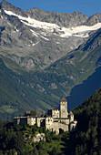 Schloss, Tauferer Ahrntal, Valle Aurina, Sand in Taufers, Pustertal,  Zillertaler Alpen, Südtirol, Trentino-Alto Adige, Italien