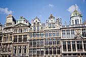 Building exteriors, Grand Place, Brussels, Belgium