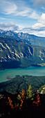 View of Julien Alps from Mount Vogel, Slovenia