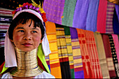 Longnecked padaung woman, Mae Hong Son, Thailand