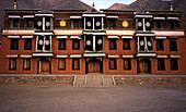 Exterior of Monastic School of Learning, Xiahe, East Tibet
