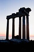 Roman ruins at twilight, Turkey