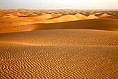 Africa, Maghreb, North africa, Mauritania, Adrar area, Chinguetti, Ouarane Erg view from Guetti dune