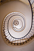 France, Paris, galerie Vivienne, stairwell