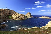 France, Corse, l'Ile Rousse, seaside