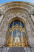 France, Paris, Petit Palais, door