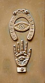 Israel, Safed, Jewish protection symbols