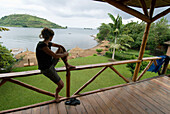 Rwanda, lake Kivu, Gisenyi, Paradise lodge