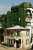 France, Paris, Montmartre, restaurant