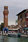 Italy, Veneto, Venice, Murano, campanile