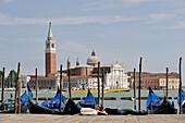Italy, Veneto, Venice, Saint Mark's square, San Giorgio Maggiore in background