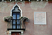 Italy, Veneto, Venice, building façade