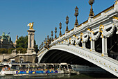 France, Paris, Alexander III bridge