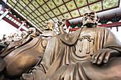 China, Zhejiang province, Hangzhou, Lingyin temple