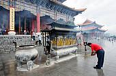 China, Yunnan province, Dali, Chong Sheng Temple
