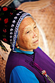 China, Yunnan province, senior woman