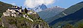 France, Alps, Queyras, Château-Queyras, Fort Queyras