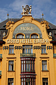 Czech Republic, Prague, Grand Hotel Europa
